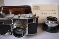 Zeiss Ikon Contax II (1938) + lens Carl Zeiss No. 1346108