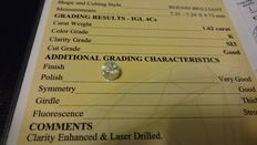 1,62ct Round Brilliant Diamond - SI3