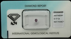 0.17 ct Natural Fancy Intense Pinkish Purple Diamond – NO RESERVE