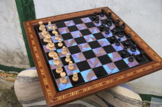 Butterfly Wings Trays chess game- Galeria Florida / Brasileira