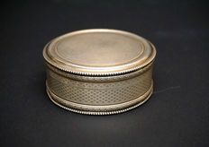 Large silver box, France, XIX/XX c.