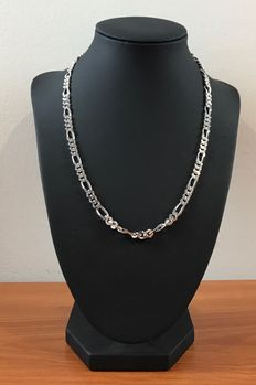 Silver Figaro necklace 925 kt