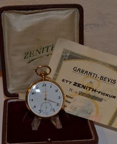 Pocket watch by Zenith from 1926