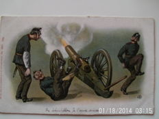 lot of 42 cards military humour
