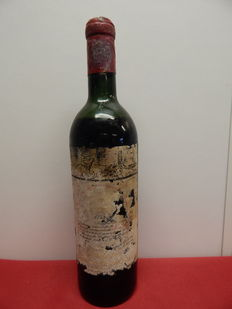 1955 Chateau Mouton Rothschild, Pauillac 2ème Grand Cru Classé - 1 bottle