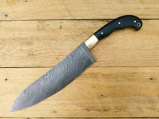 Handmade chef knife - Damascus steel