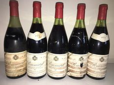 "1974 Pommard Clos de la Chaniére ""F.Clerget""  5 bottles in total."