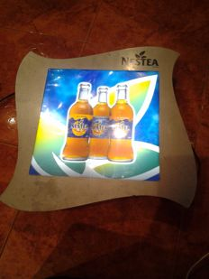 Advertising lot of soft drinks
