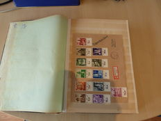 Europe - album with postal items  and miscellaneous, including propaganda World War 2.