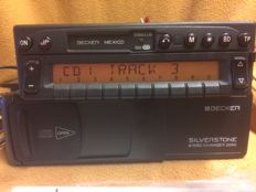 Original Becker Mexico with Becker Silverstone 6 CD player and remote controller