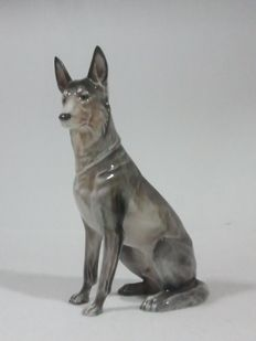 Rosenthal - porcelain Shepherd dog