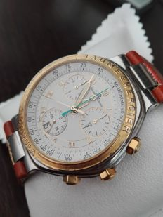 Baume & Mercier Formula S double chronograph ref. MV4FO 11.2, for men, 1998.