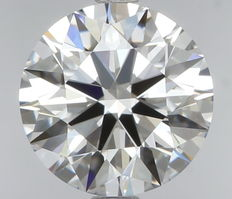 1.01 ct IGI Round Brilliant Diamond D IF -Original Image-10X - Serial# 92