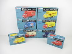 Corgi - Scale ca 1/43 - Lot with 8 different Golden Oldies models