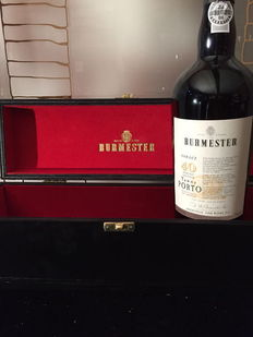 "40 year old Tawny Port Burmester ""Tordiz"" - 1 bottle with case"