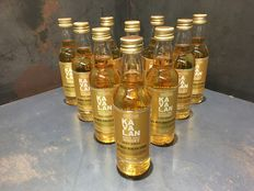 Kavalan ex-Bourbon Oak Whisky 50ml x 10 Bottles
