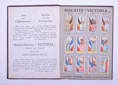 "Picture card albums; ""Victoria"" Biscuits & Chocolats - 1926"