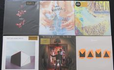 Depeche Mode / Madonna / Everything But The Girl / Get Cape. Wear Cape. Fly / Scissor Sisters / Genesis: nice lot of 5LP's and 1x 12inch, including limited editions....