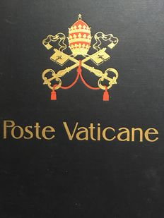 Vatican 1852 / 1997 – Collection in Davo albums stamps /covers / booklets
