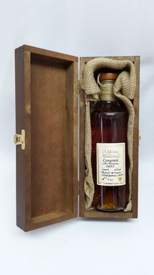 1977   Petit Champagne Cognac Chateau de Montifaud, bottled in 2011 ( at least 30 years old ) number 770. 43% abv. 500ml in OWC