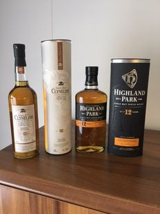 2 bottles - Higland Park 12 Years 40%, 70 cl and Clynelish 14 Years 46% 70 cl