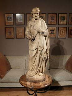 Du Champigneulle A Metz - a large ceramic Holy figure - France - before 1872