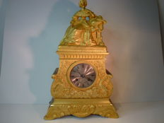 Gold plated French pendulum - 1840 period