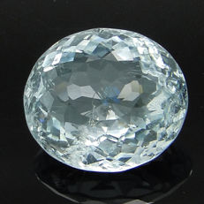 Greenish blue aquamarine – 5.76 ct