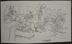 Jarvis, Kelley A. - original drawing - Bugs Bunny