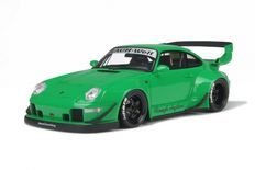 GT-Spirit- Scale 1/18 - Porsche 911 RWB 993 - Green