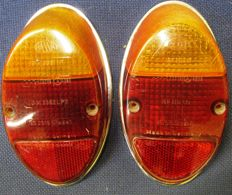 Volkswagen Beetle 60s genuine Hella/ Hassia  tail lights,  turn signal