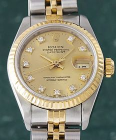 Rolex Lady Oyster Perpetual Datejust  – Year 1990