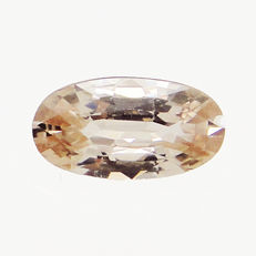 Orangey brown zircon - 2.22 ct  - No Reserve Price