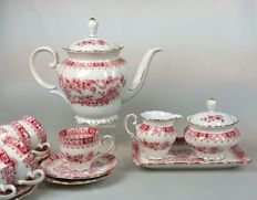 "Seltmann Weiden - porcelain coffee set ""Theresia"""