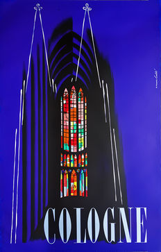 Werner Labbé - Cologne (Cologne Cathedral) - 1954