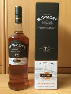 Bowmore 12 years old Enigma 1 liter