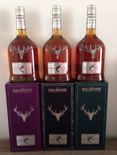 3 bottles - Dalmore Rivers Collection