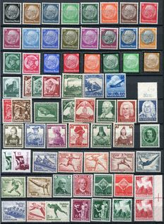 Germany 1933/1945 - Collection between Michel 479 and 909U