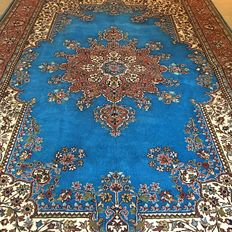 As good as new blue Kayseri Ladik – 320 x 215 cm – Super condition – With certificate!