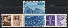 Kingdom of Italy, 1942 - Airmail series War propaganda (not issued) - Sassone 12a/12c