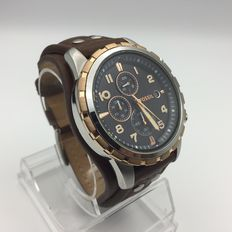 Fossil – FS4545 Dean Chronograph Mens watch ± 2016 New
