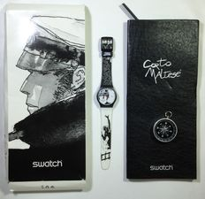 "Pratt, Hugo - Swatch watch ""Corto Maltese"" Limited Ed."