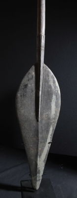 Old paddle from the insect cult village Sawagup - upper Sepik - Papua New Guinea