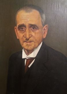 J. Beltrán (20th c.) - Portrait of a man