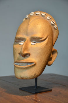 Terracotta replacement head (made in Germany for use in Papua New Guinea)