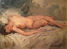 Francisco Rodríguez Sanchez Clement (1893 - 1968) - Sleeping beauty
