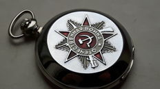 Jubilee  men's pocket  watch  -  MOLNIYA