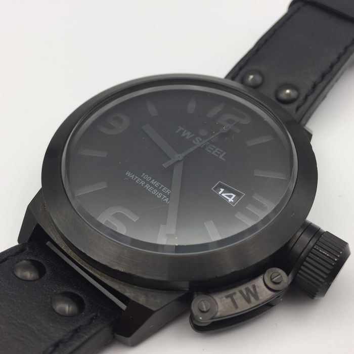 33f1f0191d3 TW Steel – TW822 PVD Cool Black Canteen Mens watch ± 2016 New ...