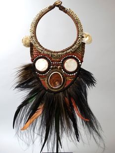 Papua warrior ceremonial necklace - Iatmul - Papua New Guinea