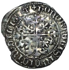 Italy, Kingdom of Naples, Robert of Anjou (1309-1343) - AR Gigliato (29 mm; 3,55 g) - Naples mint - MIR n°28